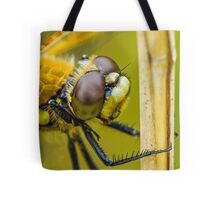 Four-spotted Chaser close-up. Tote Bag