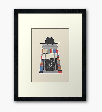 Doctor Pepper Framed Print