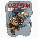 Clobberin' Time Sticker by Dansmash