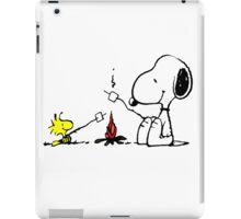 Snoopy and Woodstock Marshmallow iPad Case/Skin