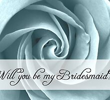 will you be my bridesmaid by maydaze
