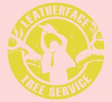 Leatherface Tree Service Kids Clothes
