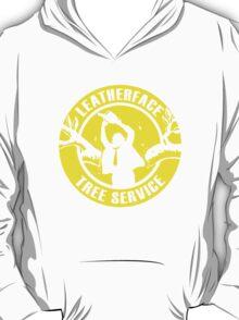 Leatherface Tree Service T-Shirt