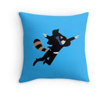 The Reichenbach Raccoon Throw Pillow