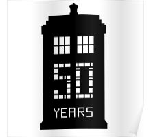 Doctor Who 50 Year Poster
