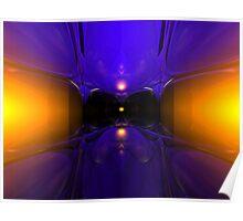 Open Cube IX Poster