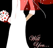 will you ... (wedding invitations) by maydaze