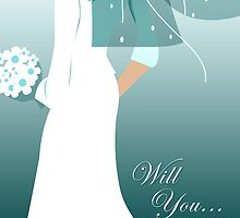 will you ... (wedding party invitations) by maydaze