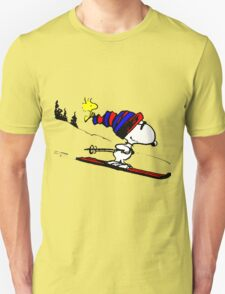 Snoopy and Snow T-Shirt