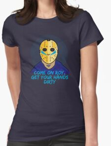 Friday the 13th - Roy Womens Fitted T-Shirt