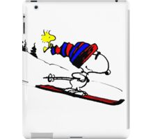 Snoopy and Snow iPad Case/Skin