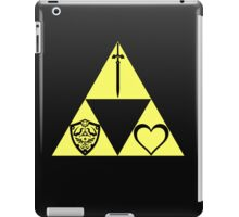 Power. Wisdom. Courage. The Sword. The Shield. The Heart. iPad Case/Skin