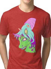Unicorn & Squid  Tri-blend T-Shirt