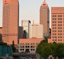 Downtown Indy by Lisa Marshall
