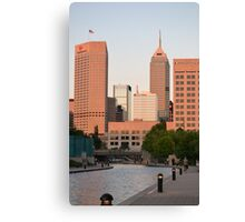 Downtown Indy Canvas Print