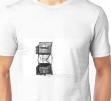 cart trolly caddy buggy art abstract Unisex T-Shirt