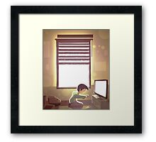 Uncle you want to play a game? Framed Print