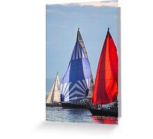 Elliott Bay Regatta Greeting Card