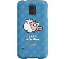 Dim Sum Pig - Char Siu Bao Samsung Galaxy Case/Skin