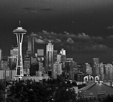Seattle Skyline by vishalsood
