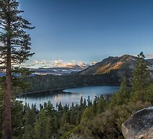Dawn at Cascade Lake by Richard Thelen