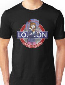 London - Umbrella Girl T-Shirt