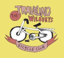 traveling wilburys bicycle club by kat sibly
