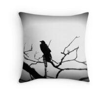 Crow- British Columbia Canada Throw Pillow