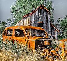 Old Car,...Old Barn by JohnDSmith