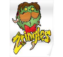 The zombie Zringles Guy Poster