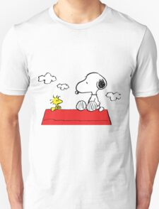 Snoopy and Woodstock Together T-Shirt