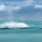 Ocean Waves by SophiaDeLuna