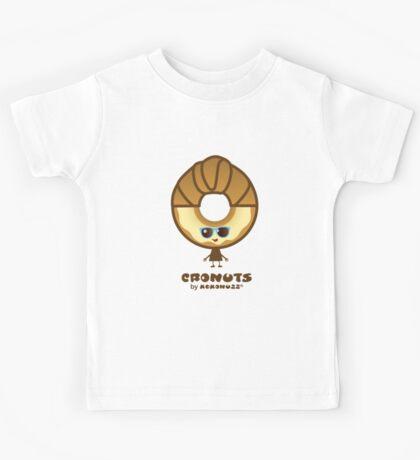 Cronuts - Fun Croissant + Doughnut Hybrids Kids Tee