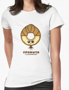 Cronuts - Fun Croissant + Doughnut Hybrids Womens Fitted T-Shirt