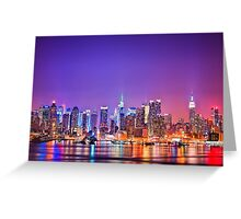 New York -The City That Never Sleeps Greeting Card
