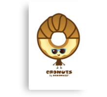 Cronuts - Fun Croissant + Doughnut Hybrids Canvas Print