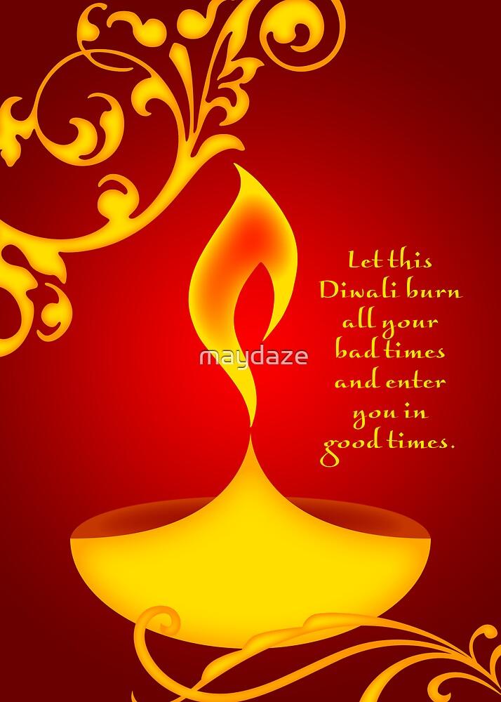 diwali greetings by maydaze