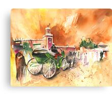Morocco - Taxi Driver in Marrakesh Canvas Print