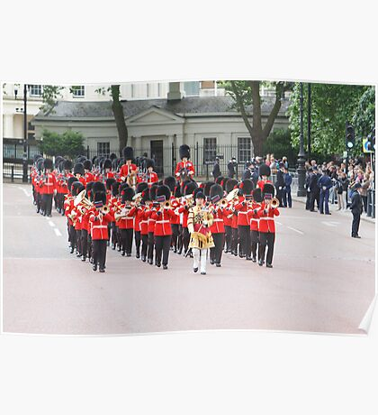 Grenadier Bandsman at Trooping the Colour Poster