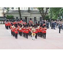 Grenadier Bandsman at Trooping the Colour Photographic Print