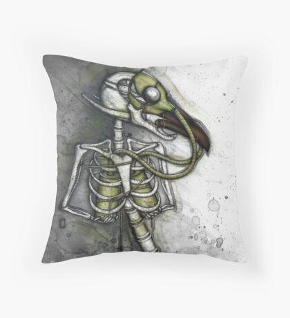 Lungbird Throw Pillow