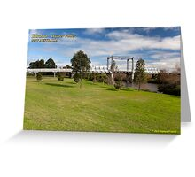 Hinton Bridge (1901) , Paterson River Greeting Card