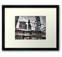 flower power in Central Hong Kong Framed Print