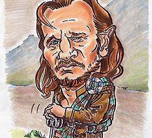 Liam Neeson... by andrea v