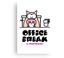 My Office Break - Toilet App Canvas Print