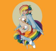 My Little Pin Up- Rainbow Dash by LillyKitten