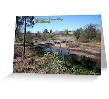 Melville Ford Low Level, Maitland Greeting Card
