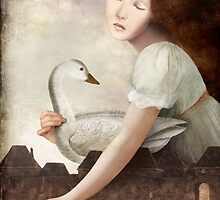 girl at the fountain by ChristianSchloe
