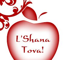 rosh hashanah card by maydaze