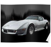 '81 Corvette Stingray Poster
